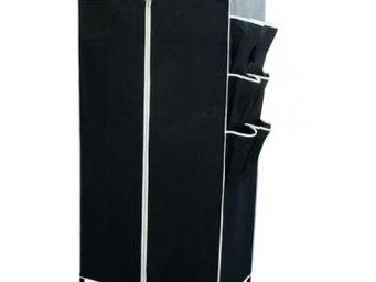 Fomax - armoire tissu noire ou beige - Armoire De Salle De Bains