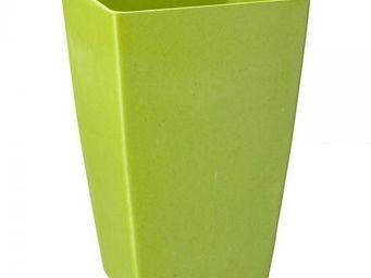 NetCadeau - vase bambou vert - Cache Pot