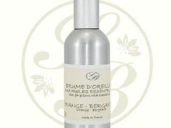Savonnerie De Bormes - brume d'oreiller - orange-bergamote - 100 ml - sa - Brume D'oreiller