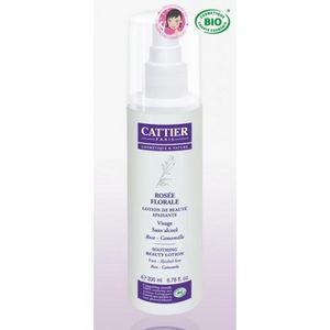 CATTIER PARIS - lotion de beaut� bio apaisante - ros�e florale - 2 - Cr�me De Soin