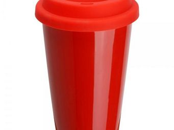 La Chaise Longue - mug porcelaine isotherme rouge - Mug Isotherme