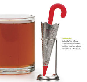 R.S.V.P. International - umbrella tea infuser - Cuill�re � Th� Infuseur