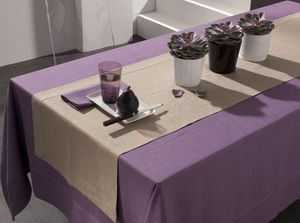 BLANC CERISE - delices de lin - Chemin De Table