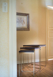 La Fibule - montery end tables - Table Bureau