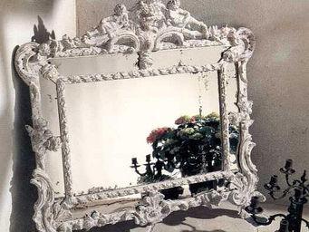 PROVENCE ET FILS - miroir angelots - Miroir
