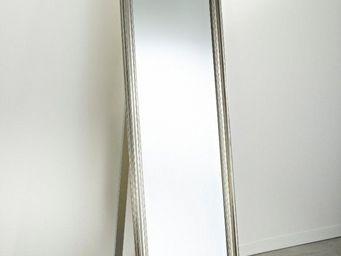 WHITE LABEL - orion miroir psyche en verre - Psyché