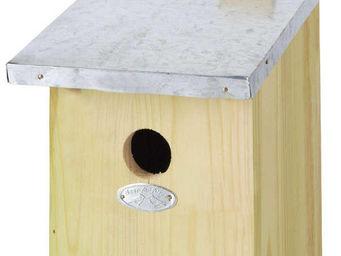 BEST FOR BIRDS - nichoir m�sange bois et zinc - Maison D'oiseau