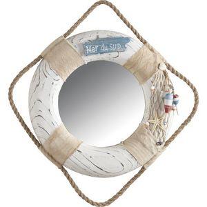 Aubry-Gaspard - miroir salle de bain bou�e - Miroir De Salle De Bains