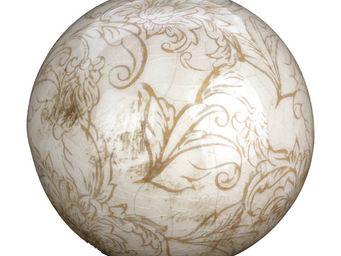 Interior's - boule d�co arabesque pm - Boule D�corative