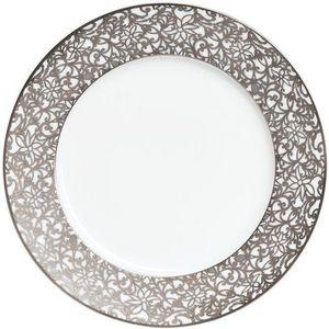 Raynaud - salamanque platine - Assiette De Pr�sentation