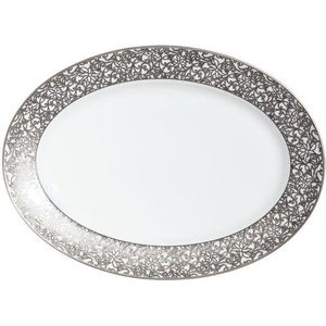 Raynaud - salamanque platine - Plat Ovale