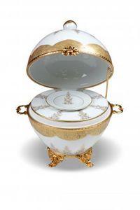 Porcelaine Carpenet -  - Oeuf D�coratif