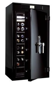 STOCKINGER - stockinger safe chimera iv black gold cream - Coffre Fort À Poser