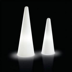 Mathi Design - cone lumineux d'extérieur - Colonne Lumineuse