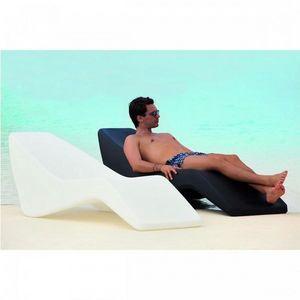 Mathi Design - chaise longue wave - Chaise Longue De Jardin