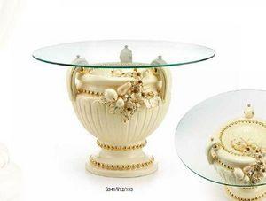 Ceramiche Stella - andromeda - Table De Repas Ronde