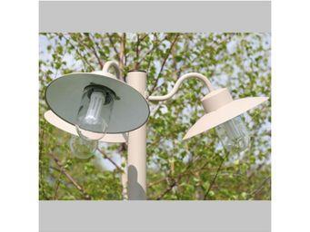 Roger Pradier - lampadaire belcour n°6 triple - Lampadaire De Jardin