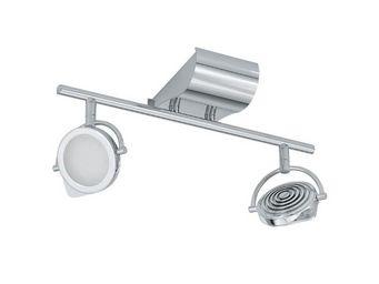 Eglo - spot double orotelli led aluminium - Spot Led