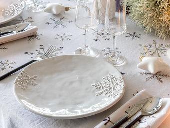 Athezza - snowflake - Vaisselle De No�l Et F�tes