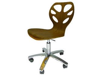 MyCreationDesign - carpates noyer - Chaise De Bureau