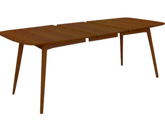 MyCreationDesign - oural xl noyer - Table � Rallonge