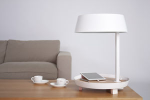 NEXEL EDITION - --carry /d2 blanc - Lampe De Bureau