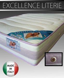 WHITE LABEL - matelas 160 * 200 cm excellence literie, �paisseur - Matelas En Mousse