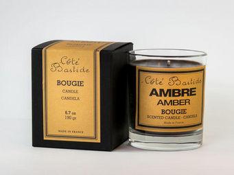 COTE BASTIDE - ambre - Bougie Parfum�e