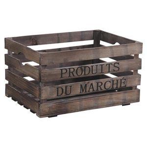 Aubry-Gaspard - caisse produits du march� - Caisse De Rangement