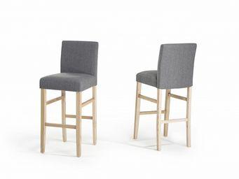 BELIANI - chaises de bar - Chaise Haute De Bar