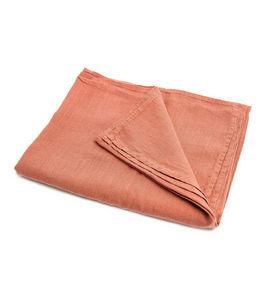 Couleur Chanvre - couleur capucine en chanvre pur - Nappe Rectangulaire
