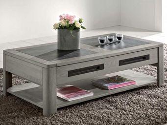 Ateliers De Langres - table basse deauvil - Table Basse Rectangulaire