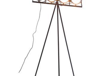Kare Design - lampadaire headstock tripot 175 - Lampadaire Trépied