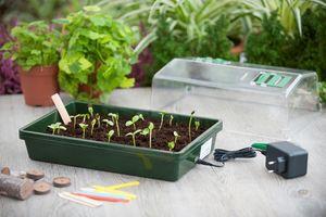 jardindeco - serre chauffante de culture - Mini Serre