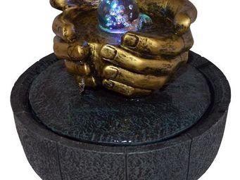 ZEN LIGHT - fontaine zen lhassa avec éclairage led - Fontaine D'intérieur