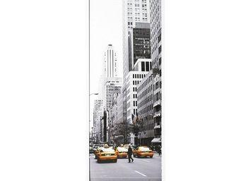 WHITE LABEL - classeur à rideaux blanc - curtain n°2 - l 38 x l - Armoire À Rideaux