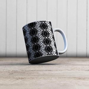 la Magie dans l'Image - mug african noir - Mug