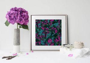 la Magie dans l'Image - print art tropical flowers forêt - Poster