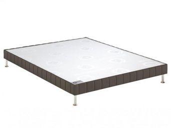 Bultex - bultex sommier double tapissier confort ferme tau - Sommier Fixe À Ressorts