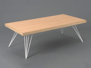 Amadeus - table basse playroom scandinave - bois clair - Table Basse Rectangulaire