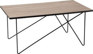 Amadeus - table basse industrielle en métal - Table Basse Rectangulaire