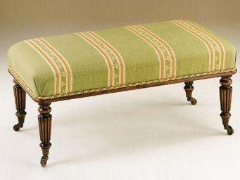 Clock House Furniture - tyninghame ii stool beaded edge - Footstool