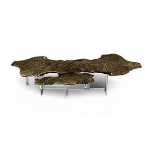 BOCA DO LOBO - monet patina - Table Basse Forme Originale