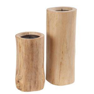 Maisons du monde - wood - Bougeoir