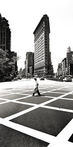 Nouvelles Images - affiche flatiron building new york - Affiche