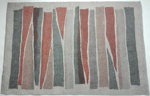 GHISLAINE GARCIN - tapis maille&feutre - Tapis Antipoussiere