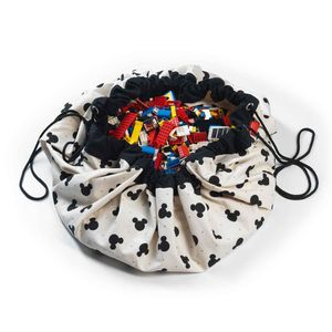 PLAY and GO - mickey black - Sac À Jouets