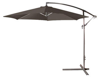 CEMONJARDIN - parasol déporté ø 300 anthracite - Parasol Excentré
