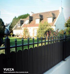 Cadiou Industrie - yucca - Clôture Pleine