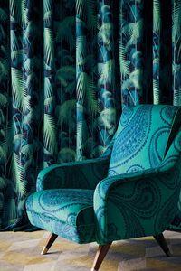 Cole & Son - palm jungle - Tissu D'ameublement